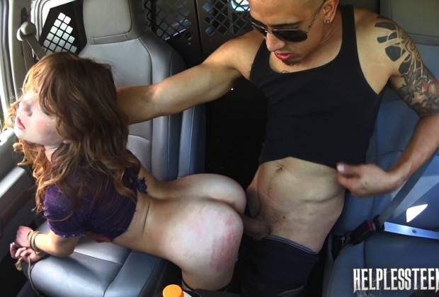 Teen banged in van at Helpless Teens