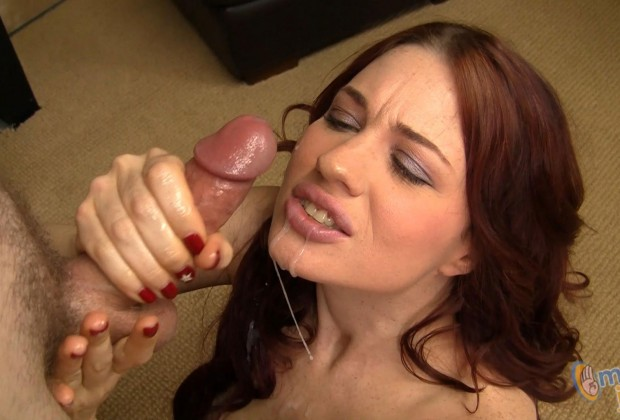 Jessica Ryan handjob and cumshot